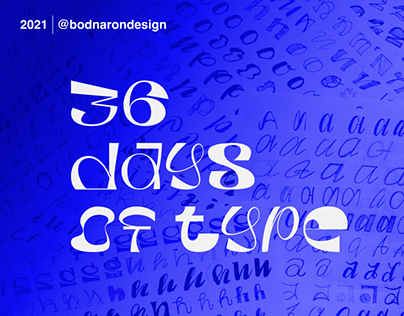 36 days of type - 2021