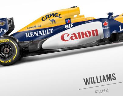 Retro F1 Liveries