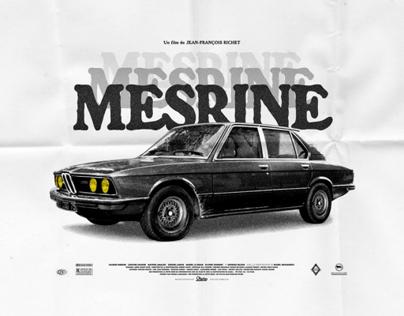 """""""Mesrine"""" movie poster"""