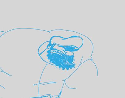 sketch brutus