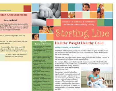 Smart Start Starting Line Spring Newsletter