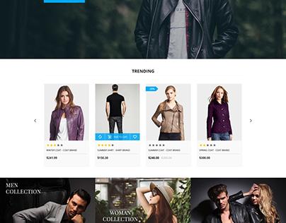 Shopify theme & Magento theme for Fashion Clothing