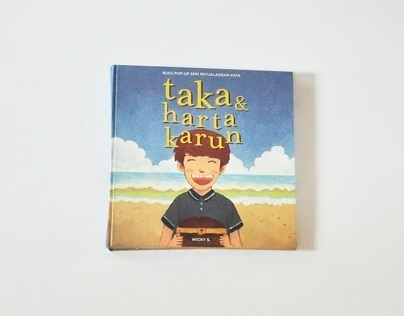 Pop-Up Typography StoryBook : Taka & Harta Karun
