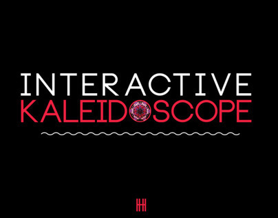 Interactive Kaleidoscope
