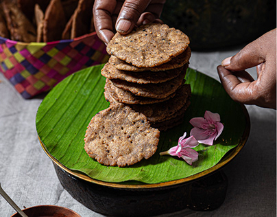 Rice Crackers - Diwali Snacks Shoot