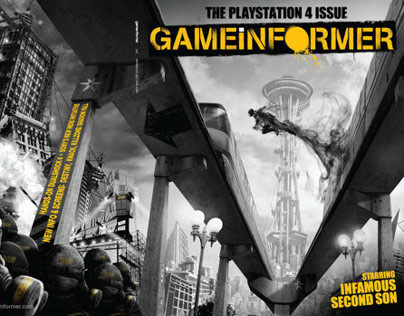 Sony | Infamous: Second Son Game Informer Cover