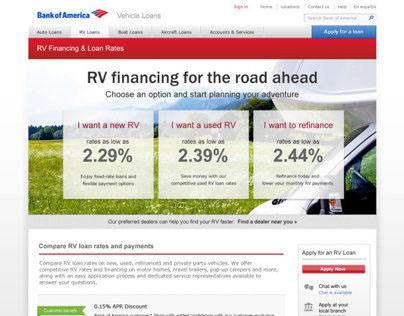 Bank of America Vehicle Loans