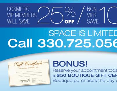 Beauty & Botox Event Promotion