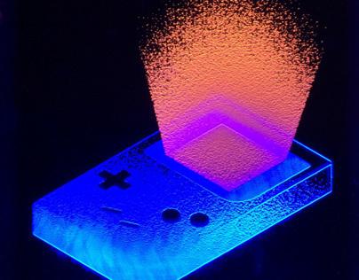 Gameboy Light Art