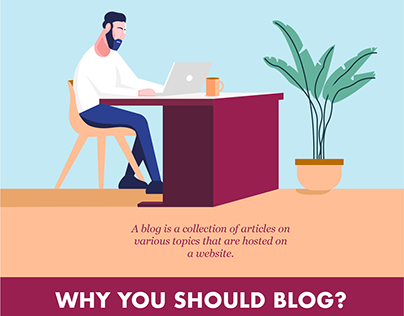 How to start a blog in 2020? Infographic