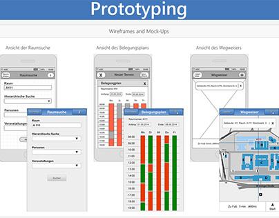 Prototyping a study app