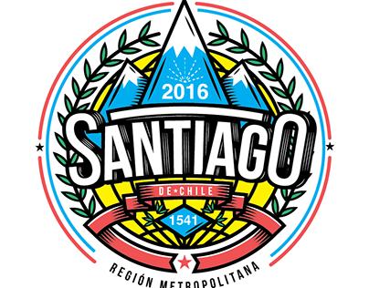ESCUDOS /SANTIAGO DE CHILE / ANDACOLLO