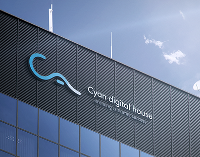 Cyan Digital House - Logo Design