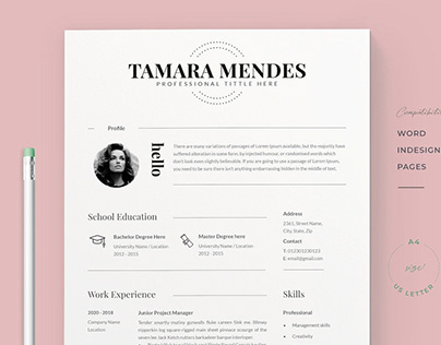 Resume Tamara