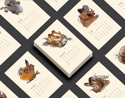 Calendario 2021 - Alimento Murciélago