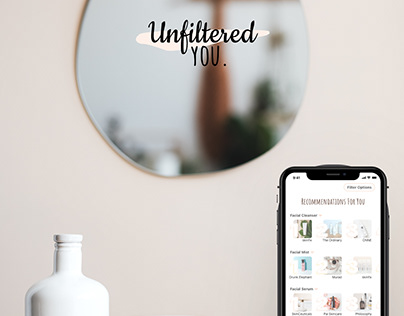 Unfiltered You Skincare Product