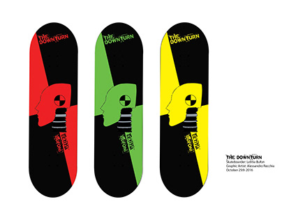 The Downturn Skateboard Graphics