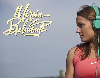 Personal branding for Mireia Belmonte