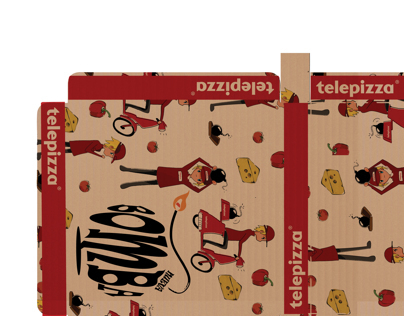 Telepizza Packaging
