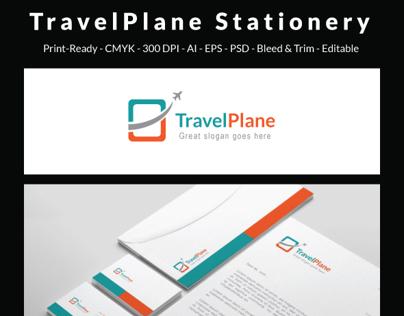 Travel Plane -  Corporate Stationery