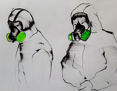 Pandemic drawings