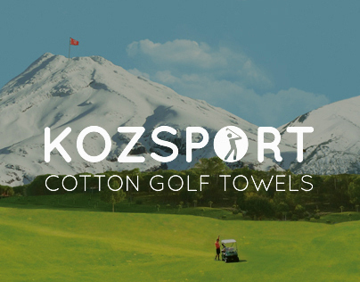 Kozsport logo, packaging and microsite
