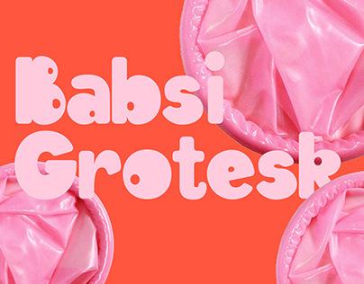 Babsi Grotesk