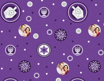 Chanukah Wrapping Paper