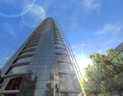 High Rise Office Building - Thesis Project