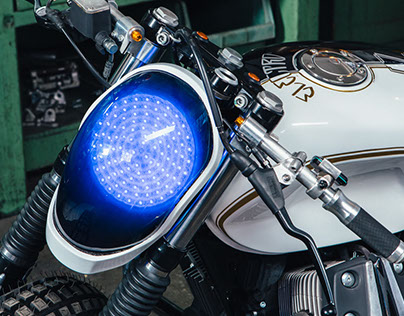 ELECTRO - Guzzi V7 Special - Tribute for Daft Punk