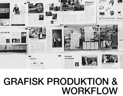 Grafisk produktion og workflow