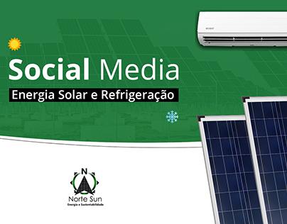 Social Media | Energia Solar e Refrigeração