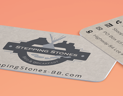 Stepping Stones Bed & Breakfast Business Card
