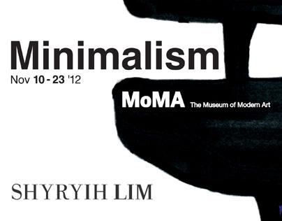 MoMA MINIMALISM PROJECT