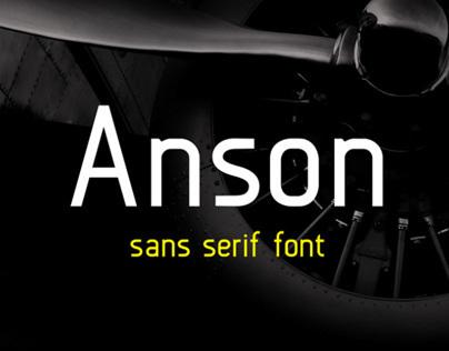 Anson (free font)