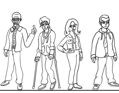 Character Designs for breaking Bad