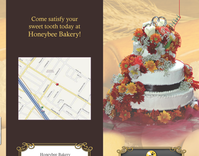 Honeybee Bakery Brochure