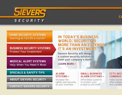 Sievers Security Website