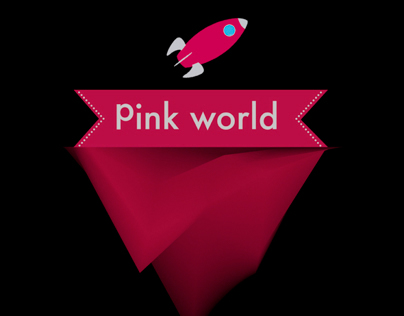 Pink World - Motion Graphics