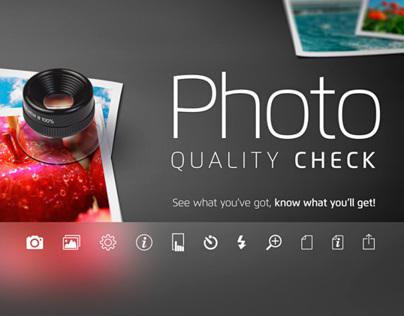 Photo Quality Check v. 1.1 for iOS 7