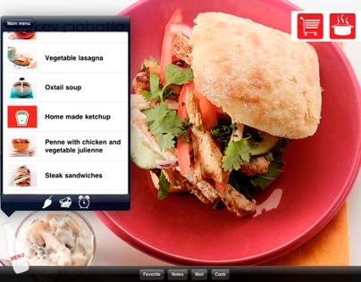 Ketchup Cookbook - ipad app