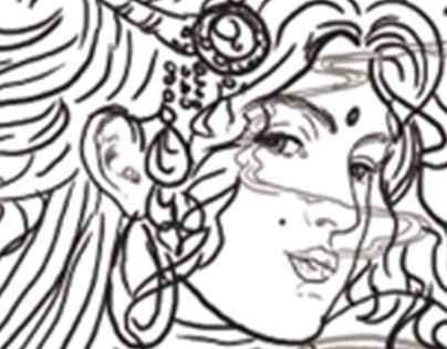 Female Character for Shisha Bar