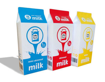 © Milky Farm Packaging