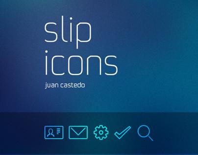 slip icons