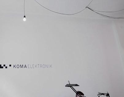 KOMA Elektronik video report for JK TV