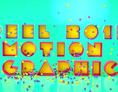 SHOW REEL 2015