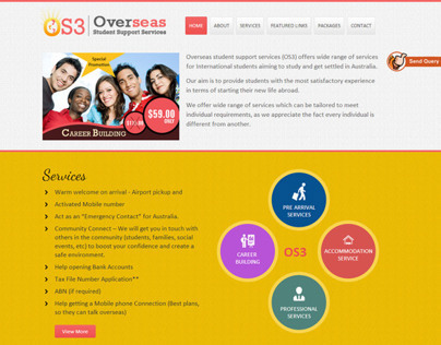 Overseas Student Support Services