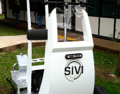 SIVI. police surveillance electric vehicle