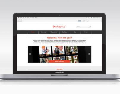 'bcsAgency' Website
