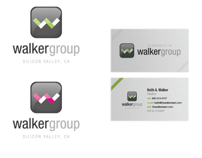 Walker Group Identity & Business Card